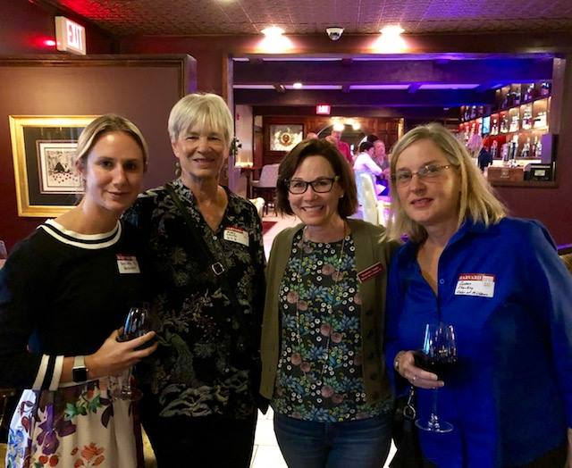 Four women at networking